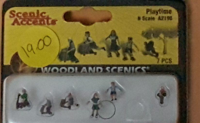 Woodland Scenics Figures